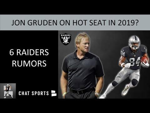 Raiders Rumors: Jon Gruden Hot Seat, Signing Gerald McCoy, Le'Veon Bell Trade & Hard Knocks 2019