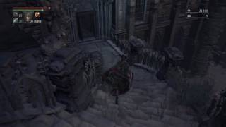 Bloodborne 聖堂街上位層の鍵の場所