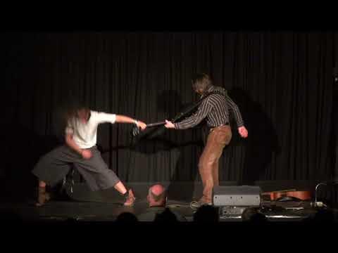 """On Edge"" pre show Rock Dance Theatre by Achimowicz & Kuznetsov"