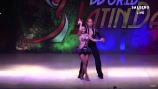 DEKLAN GUZMAN Y NATALIA VILLANUEVA PRO SALSA WORLD LATIN DANCE CUP 2015