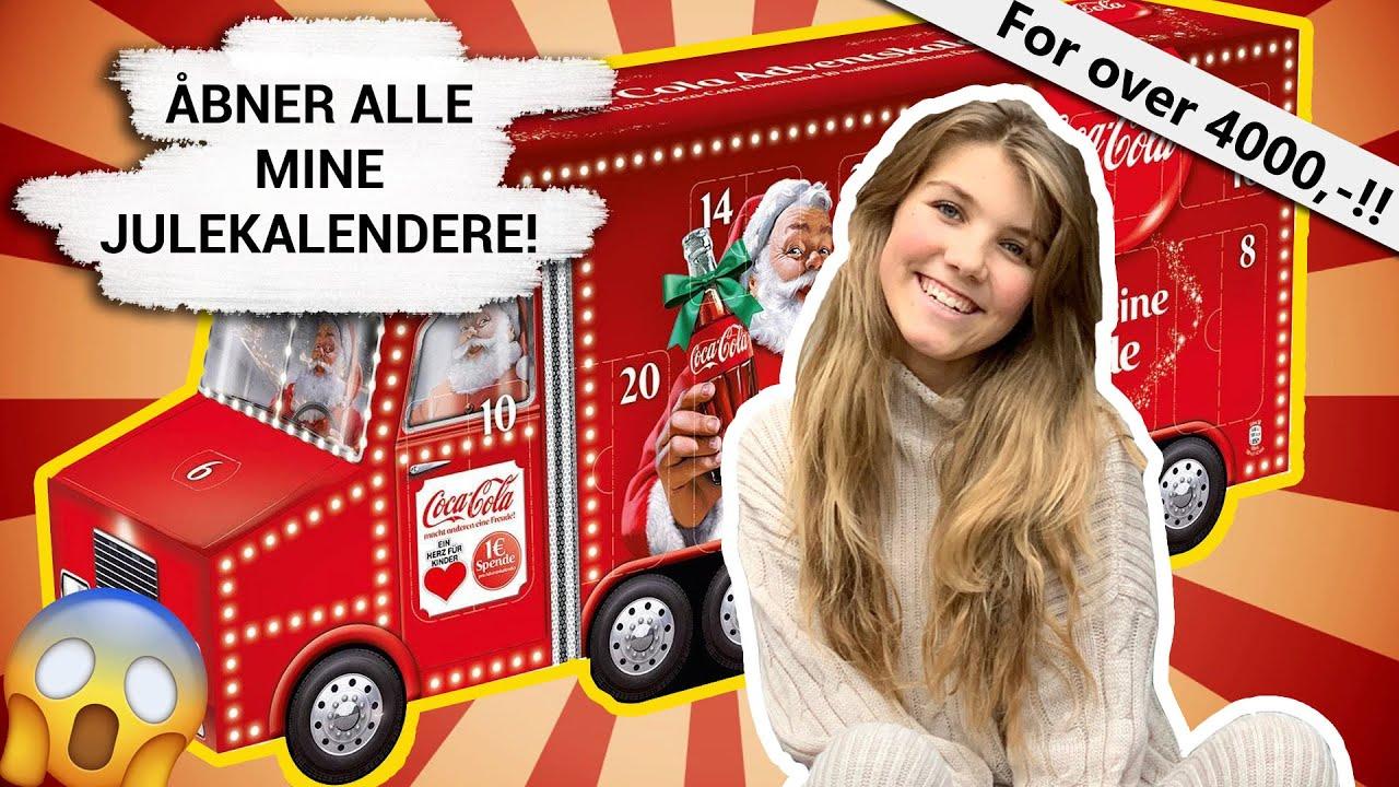 åbner Alle Mine Julekalendere 2019 Spoiler Youtube