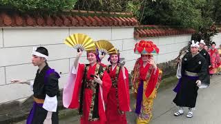 沖縄県大宜味村(おおぎみそん)の豊年祭