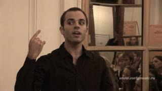Benjamin Lazar, Benjamin Alard (France)_05, earlymusic XII international festival, St.Petersburg