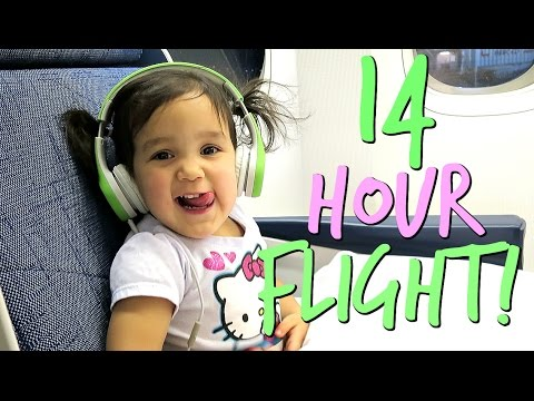 14 Hour Flight to The PHILIPPINES!!!- January 10, 2017 ItsJudysLife Vlogs