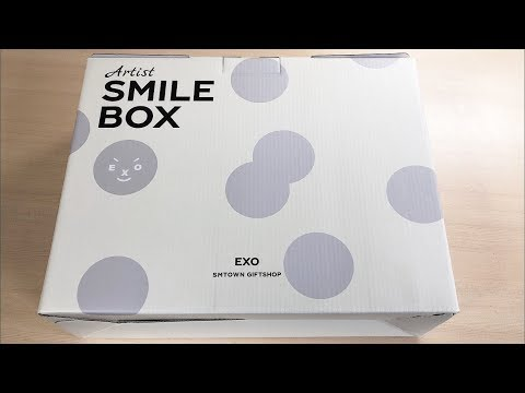 EXO Smile Box Unboxing