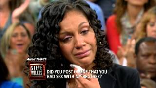 Update on Elisia from Did You Post Online That You Had Sex With My Brother? (The Steve Wilkos Show)