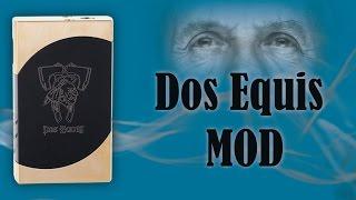 Dos Equis mod - 100% механический мод(Мехмод Dos Equis - экстерьер, принцип работы, тестовый запуск Куплено тут - http://ru.aliexpress.com/item/Newest-Dos-Equis-Box-Mod-Dual-18650-Bat..., 2015-06-05T00:25:08.000Z)