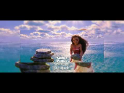 [Moana] 'How Far I'll Go' - 24 Languages full-sequence - In REVERSE