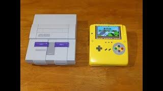 Как сделать портативную игровую консоль Super Nintendo Famicom SNES , часть 4 Финал