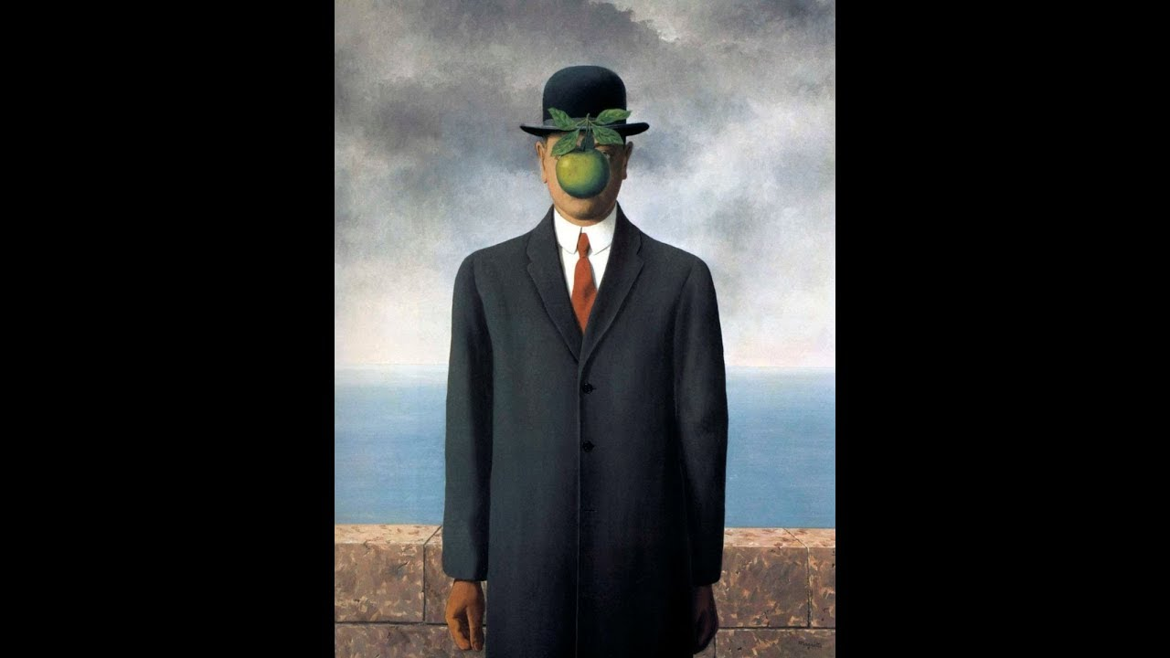 Recreating The Son Of Man Painting By Rene Magritte World Famous Painting Youtube