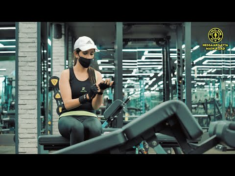 Golds Gym | Hesaraghata Main Road | Best Luxurious & Safest Gym in Bangalore