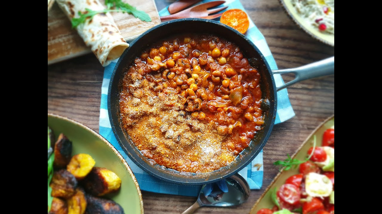 Red Red, Ghanaian Bean Stew (Vegan, Vegetarian, Gluten Free, West African Recipes)