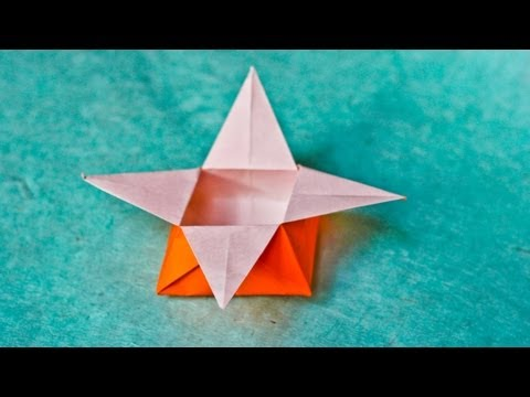 How to Make a Paper Star Box - Easy Tutorials - YouTube | 360x480