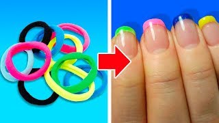 26 EASY NAIL HACKS EVERY GIRL SHOULD TRY