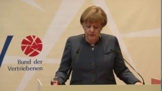 """BdV-Jahresempfang 2016: Merkel sieht Aktualität der Stiftung """"Flucht, Vertreibung, Versöhnung"""""""