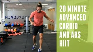 cardio and abs hiit   advanced workout   the body coach