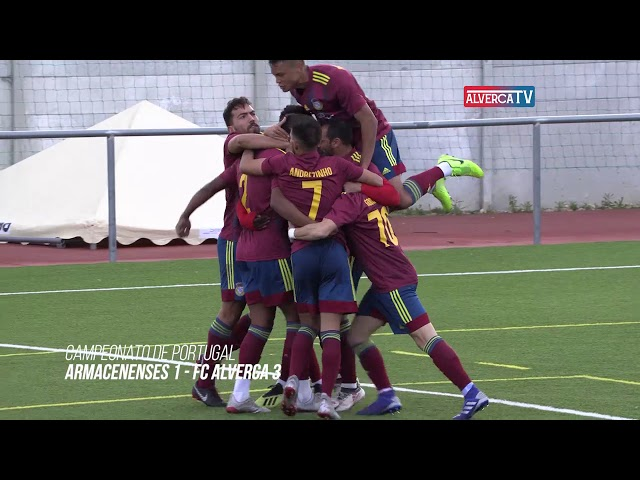 Armacenenses 1 FC Alverca 3 - Highlights