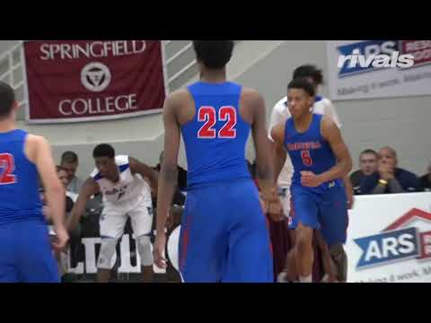 Class of 2019 Shooting Guard Justin Moore Highlights from the Hoophall Classic