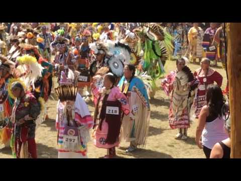 Final Grand Entry Thunderchild Pow wow 2016