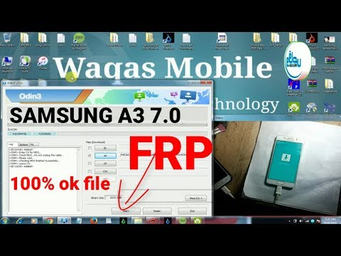 Samsung A3 A310f 7.0 Frp Bypass 100% Work 2018 By Waqas Mobile