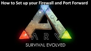 albbyel shows   how to set up port forwarding and firewall