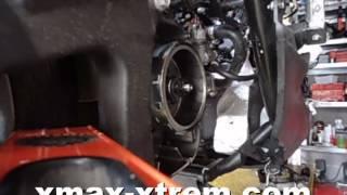 demontage xmax volant 2