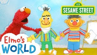 Sesame Street: NEW Elmo's World: Sharing | FULL Segment