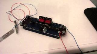 Meccano Set Four EL. Electric shock machine