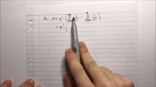 HSC Maths Ext2 - Harder Ext1 - Proving e is irrational