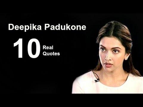 Deepika Padukone 10 Real Life Quotes on Success ...
