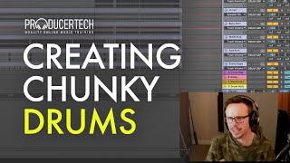 Chunky drums, percussion & creating a solid kick with Simon Shackleton (part 3)