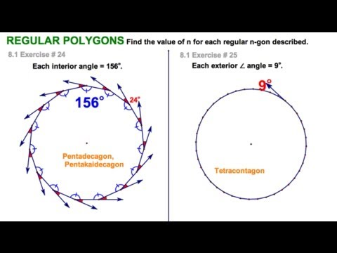 8 1 exterior angles of convex polygon youtube - Total exterior angles of a polygon ...