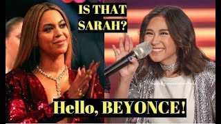Famous International Singers React to SARAH GERONIMO
