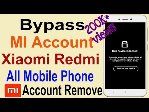 download How to Remove Mi Account   Bypass Mi Account Without PC   Remove Blocked Redmi MI Account