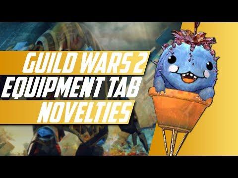 Guild Wars 2: Novelties Equipment Tab