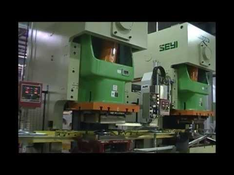 Nine-Press Walking-Beam Transfer Line Defines Flexibility at Great Lakes Metal Stamping
