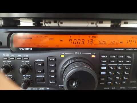 FZ2WO CALLING CQ ON 40 METERS BAND - Amateur - Ham Radio