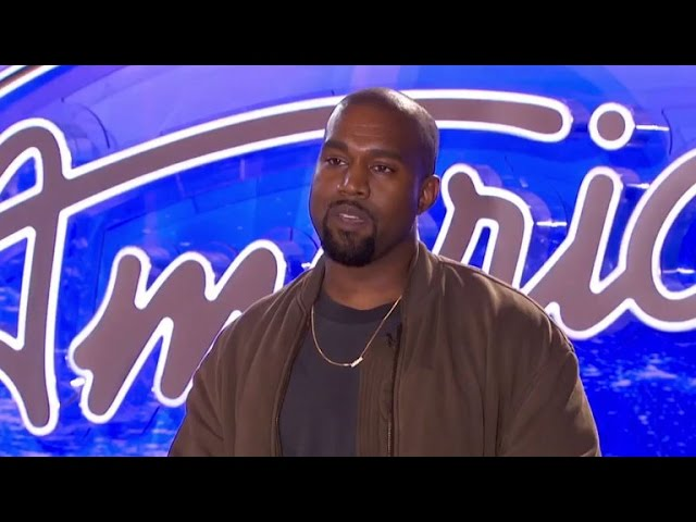 Kim Kardashian Shares a Sneak Peek of Kanye West's 'American Idol' Audition -- And He Nails It!