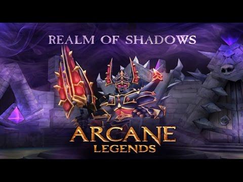 Arcane Legends - Shuyal: Farming The Elite Ashral Heart (awesome Loot!!!)