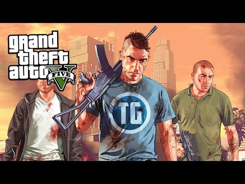 PLAYING GTA 5 ONLINE AT THE ROCKSTAR HEADQUARTERS!!