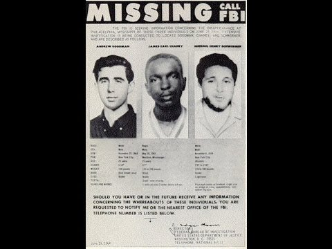 Mississippi Burning 45 Years Later: Remembering Schwerner, Chaney, & Goodman