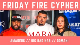 Friday Fire Cypher: Domani Harris and Big Bad Kab Jump on Amadeus Beats   SWAY'S UNIVERSE