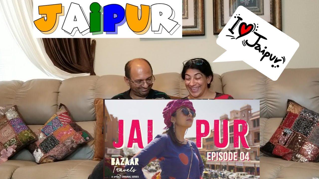Gobble | Travel Series | Bazaar Travels | S01E04: Jaipur | Ft. Barkha Singh | REACTION !!