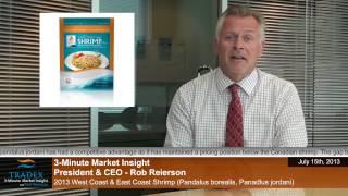 3-minute Market Insight - 2013 West Coast & East Coast Shrimp (pandalus Borealis, Panadlus Jordani)