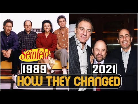 SEINFELD 1989 Cast Then And Now 2021 How They Changed