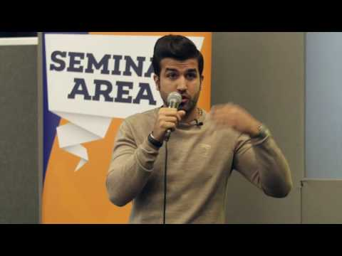 The British University Fair April 2016 - 'Life as a PhD Student' by Zeyad Abualhamael