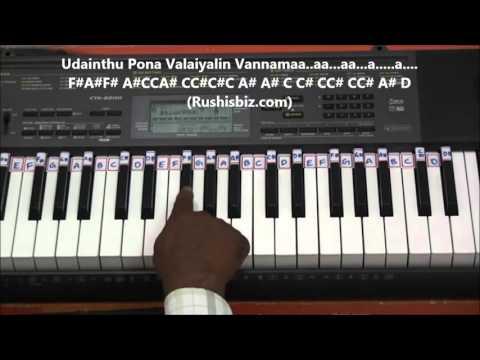 Ninaithu Ninaithu Paarthaal (Piano Tutorials) - 7/G Rainbow Colony