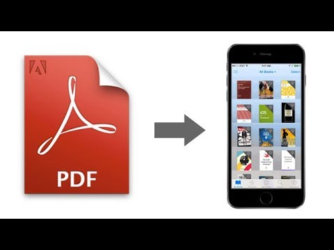 How to Transfer/Import PDF Files to iPhone/iPad 2017