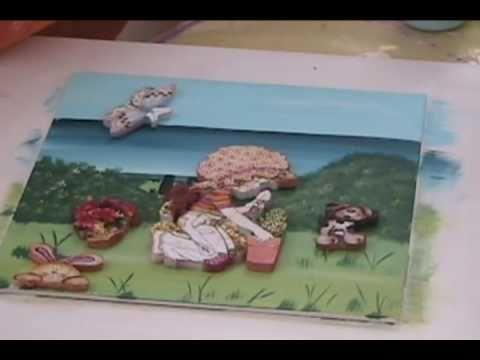 Pintura en madera cuadros decorativos youtube - Pintura para maderas ...