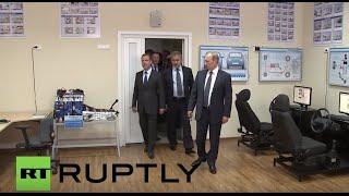 Russia: Putin and entourage tour Sevastopol cadet school